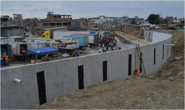 Ecuador construye muro en frontera con Perú, para 'frenar contrabando'