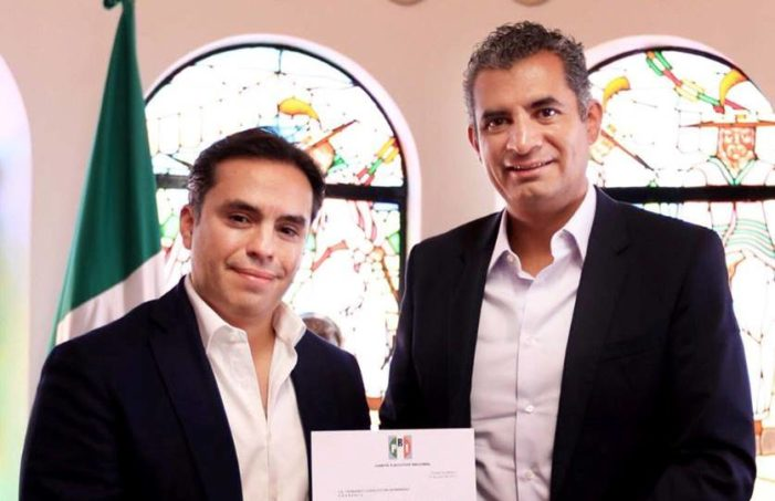Ochoa Reza nombra a exfuncionario de Javier Duarte, como presidente del PRI en Morelos