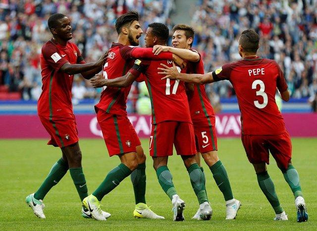 Portugal vs México empatan 2-2 en Confederaciones