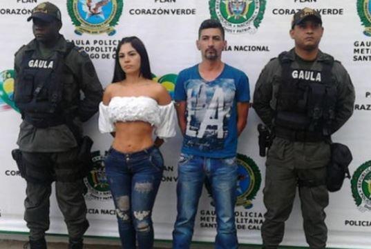 Conductora de televisión y secuestradora es detenida en Colombia
