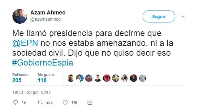 Reportero de The New York Times fue llamado por gobierno de Peña Nieto
