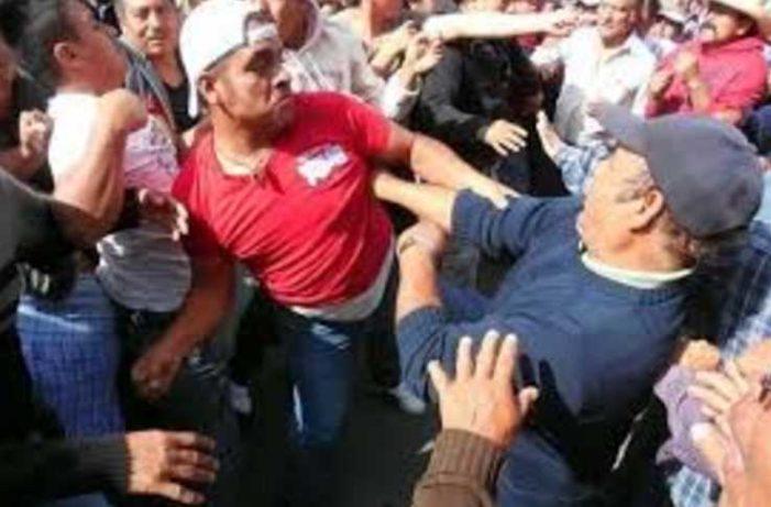 Priistas golpean a militantes del PES en zona centro de Veracruz