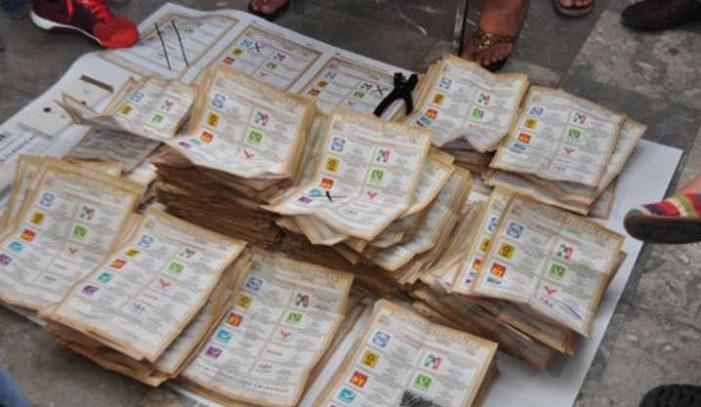 Sólo habrá recuento de 3 mil 32 paquetes electorales en Edomex