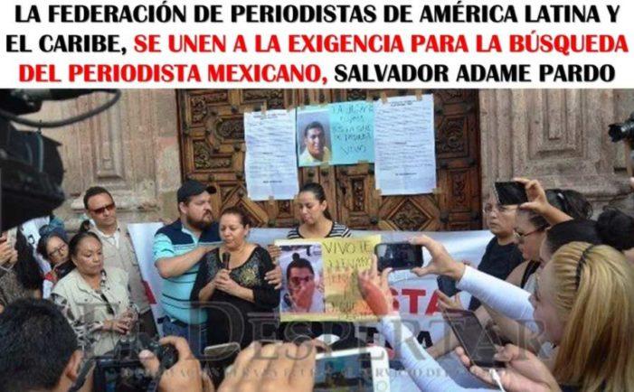 Se cumplen tres semanas de la desaparición del periodista Salvador Adame