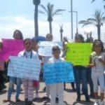 Niñez y familiares marcharon por seguridad y justicia para Valeria, niña violada y asesinada en Neza