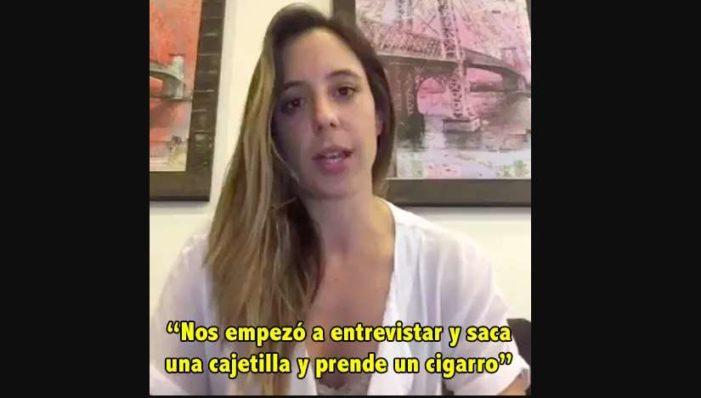 Martha Debayle fuma en espacio cerrado y censura entrevista