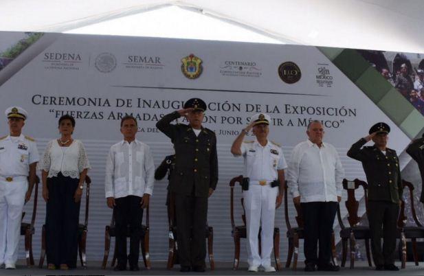 Cienfuegos: se militarizará Veracruz por aumento delictivo