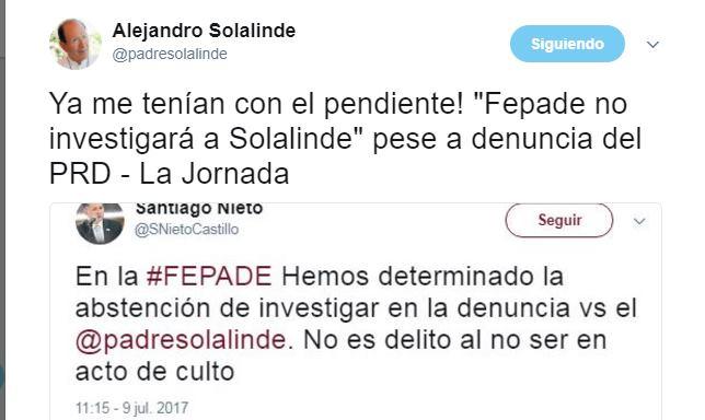 Fepade no investigará a Solalinde, 'ya me tenían con el pendiente', dice el sacerdote