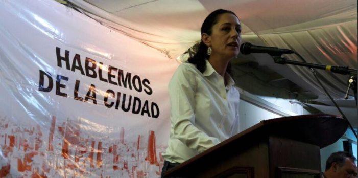 Claudia Sheinbaum: 'Sí quiero ser jefa de gobierno'