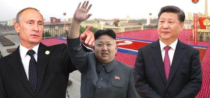Rusia y China realizan maniobras militares cerca del mar de Corea del Norte
