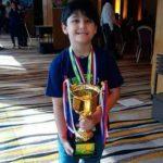 Niño genio de 6 años ganó campeonato internacional de Cálculo Mental