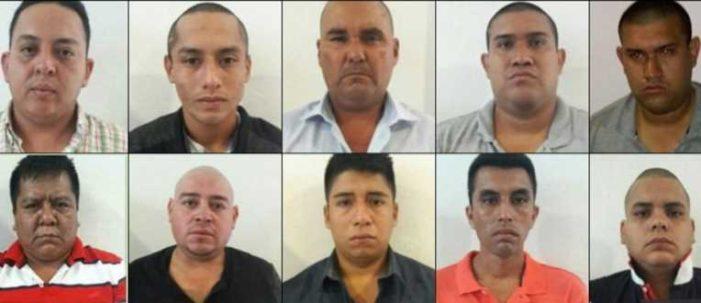 Liberan y reaprehenden a implicados en asesinato de comandante de la PF en Veracruz
