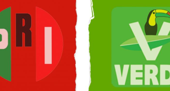 Diputados y alcaldes del Partido Verde llaman a romper alianza con el PRI