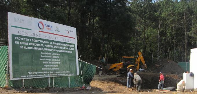 Construyen planta de aguas residuales cometiendo delitos ambientales