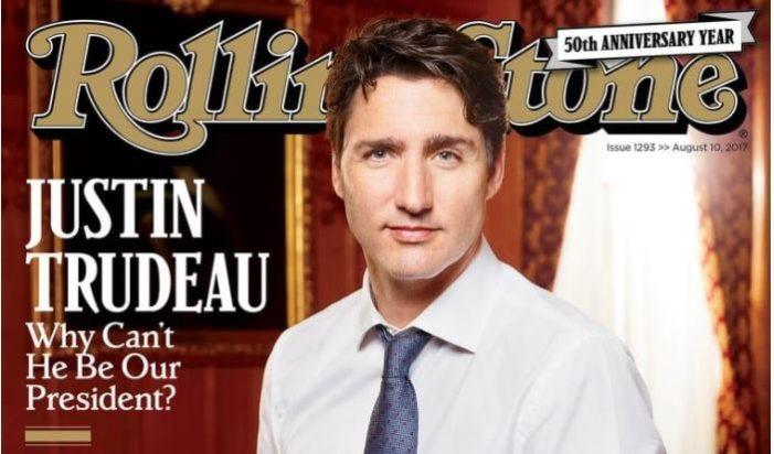 Rolling Stone pregunta por qué Trudeau no puede ser presidente de Estados Unidos