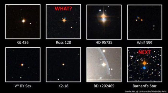 Detectan señales de radio de una estrella