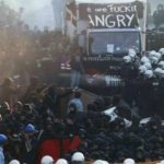 Manifestantes bloquean residencia de Melania Trump en Alemania