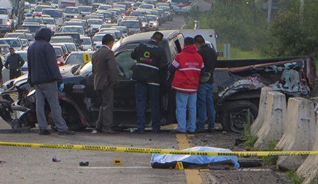 Muere arrollado hombre en la México-Toluca, había sobrevivido a choque minutos antes
