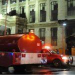 Se registra incendio en Bellas Artes debido a un corto circuito