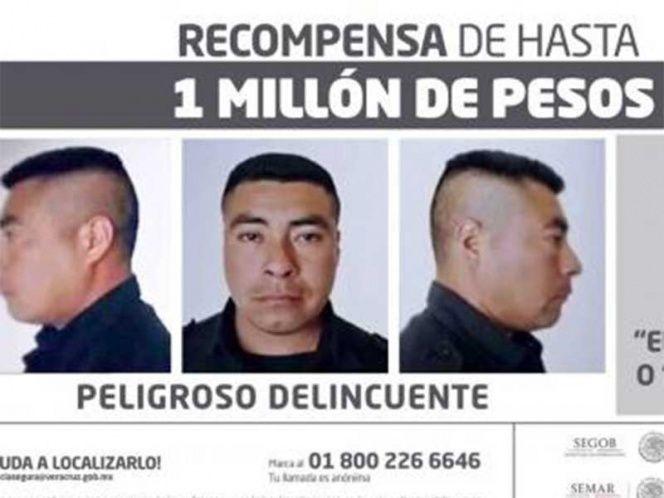 Yunes ofrece un millón de pesos por la captura de 'El Bukanas'