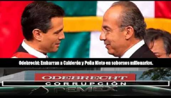 Andrés Manuel afirma Odebrecht entregó sobornos a gobiernos de Calderón y EPN