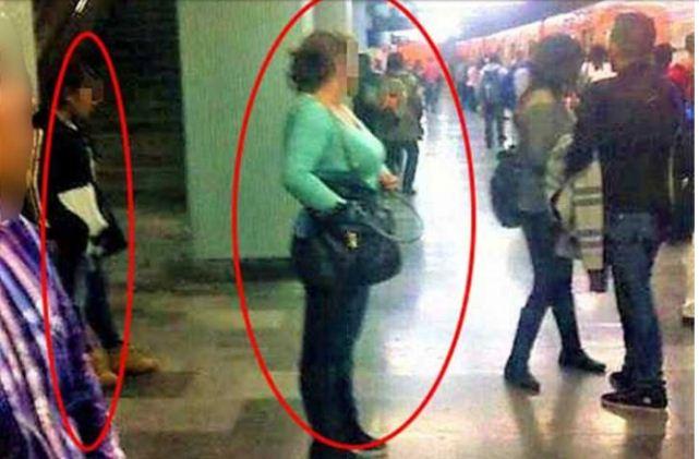 Captan modus operandi de carteristas en el Metro