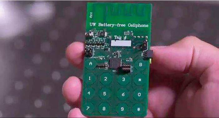 Investigadores crean el primer celular celular que no necesita batería