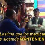 Ciudadano a Vicente Fox; 'lástima que te sigamos manteniendo' (video)