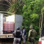 Detectan con drones combustible robado en Veracruz