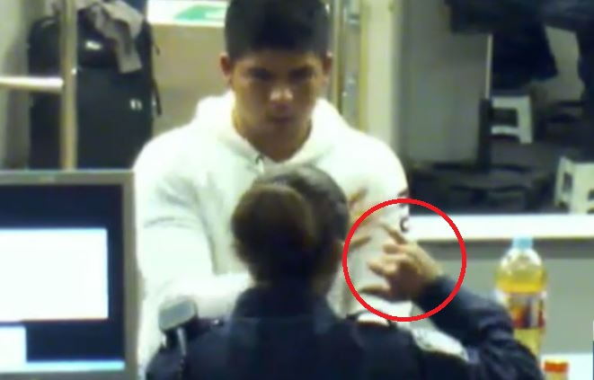 Video muestra como agentes de USA alientan a mexicano a beber metanfetamina
