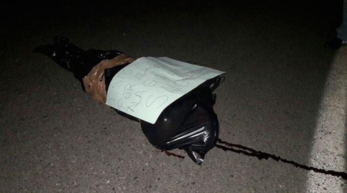 Ejecutaron y embolsaron a funcionario de Petatlán, Guerrero