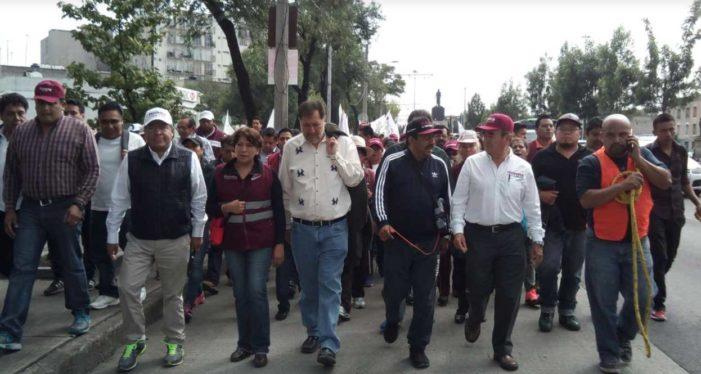 Delfina Gómez demanda a Osorio Chong limpiar elección del Edomex