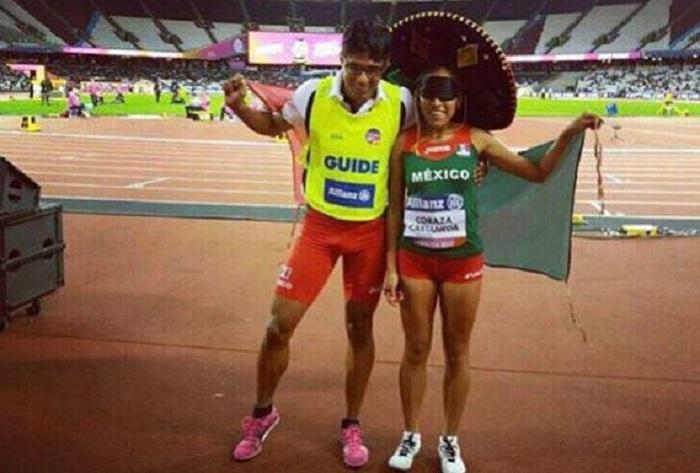 Diana Coraza ganó oro en mundial de Para Atletismo