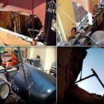 Techo de primaria colapsa en el centro histórico y a pasos de la SEP
