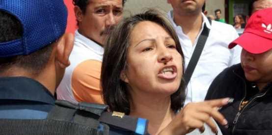 Ex funcionaria de Iztacalco armó la provocación contra Claudia Sheinbaum
