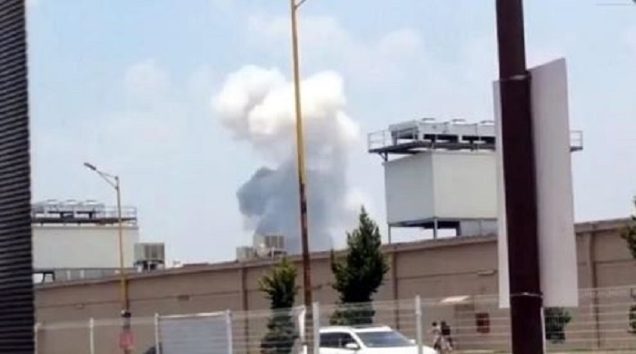 Se registra una nueva explosión en Tultepec (VIDEO)