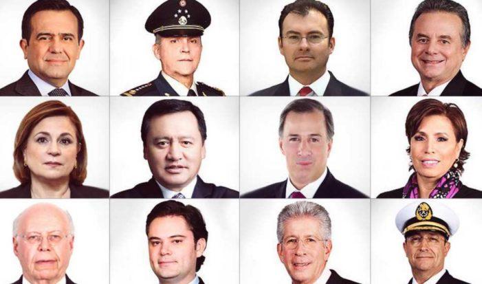 Estos son los sueldazos que sin retrasos reciben los funcionarios del gabinete de Peña