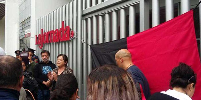 Levanta huelga en La Jornada