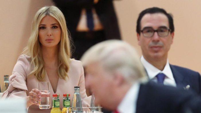 Ivanka Trump reemplaza a su padre en la mesa del G20