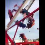 Joven muere tras falla de juego mecánico en Feria de Ohio (VIDEO)