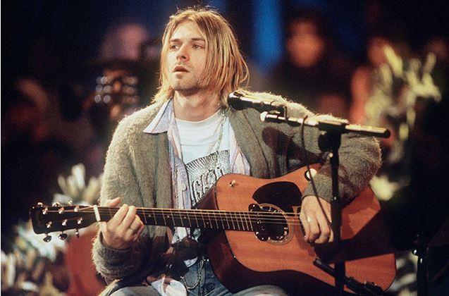 Publican video inédito de Kurt Cobain, vocalista de Nirvana