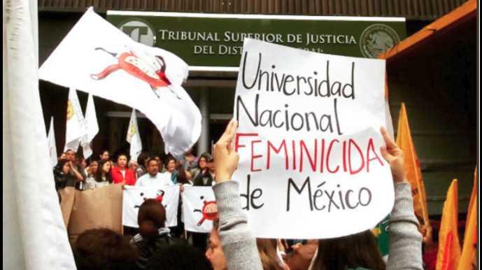 Familiares exigen procesar por feminicidio al novio de Lesvy