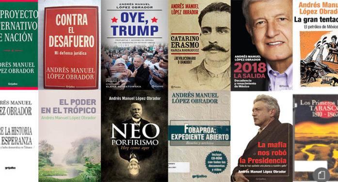 ¿Cuántos libros ha escrito López Obrador?