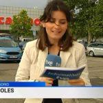 '¡No, lo he hecho mal! Joder, lo siento', reportera española en vivo