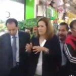 Margarita Zavala es ignorada y después abucheada en Central de Abastos (video)