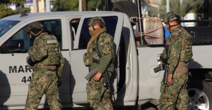 Detienen a 7 marinos por secuestro y extorsiones