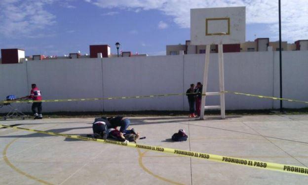 Muere menor de 13 mientras jugaba básquet en Hidalgo