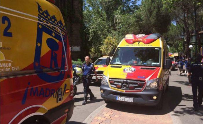 33 personas heridas por accidente en montaña rusa de España
