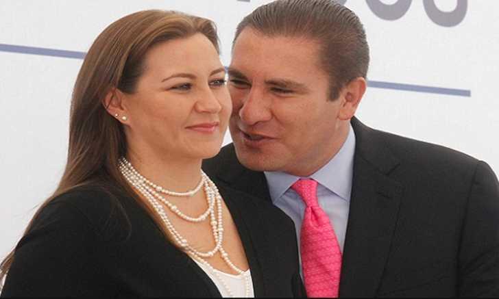 moreno valle y su esposa Martha Érika Alonso Hidalgo