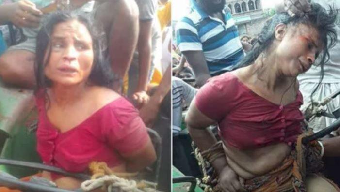 Mujer esquizofrénica es humillada hasta morir en la India